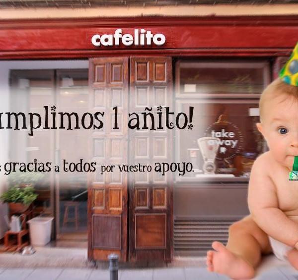 Cafelito cumple un añito